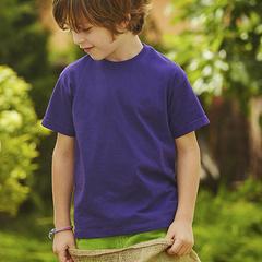Børne T-shirt med logo - Fruit of the Loon