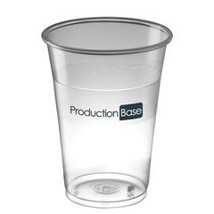 0,4L, 0.5, 0,57L Engangs ølglas, fadøls glas med logo tryk