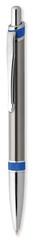 Metal kuglepen med kontrast farver. Vælg mellem 7 farver