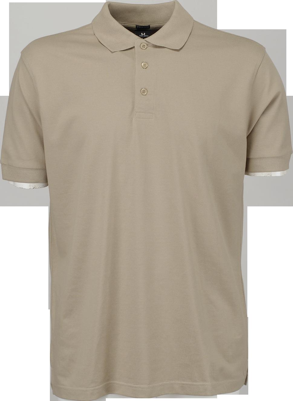 Luksus polo shirt med lycra for Amazon logo polo shirts