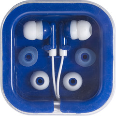 Høretelefoner i æske med logo tryk