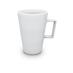 Hvidt Krus med logo i Skandinavisk design
