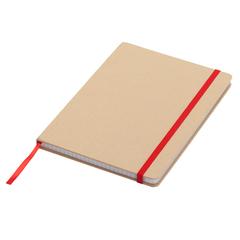 Recirkuleret notesbog med logo tryk