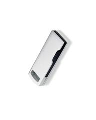 USB i Aluminium med logo
