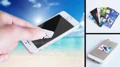 Mobiltelefon cleaner med logo tryk