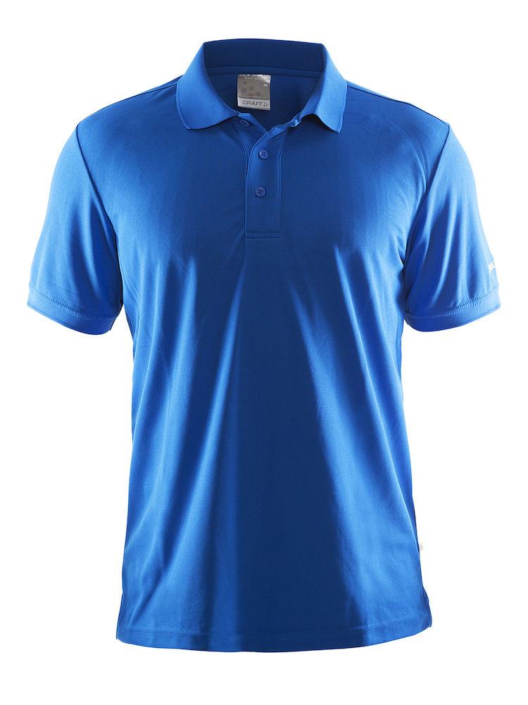 pique skjorte med logo