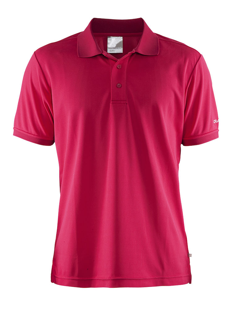 Craft svedtransporterende polo shirt med logo for Polo shirts with logos