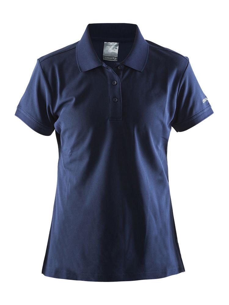 Craft svetteransporterende polo skjorte med logo