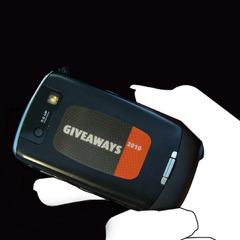 Mobiltelefon anti slip pad med logo