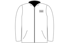 Jacket bryst 100x100mm