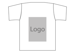 T shirt ryggen
