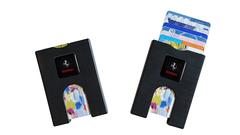 Kreditkortholder med logo tryk