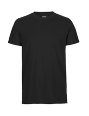 100 % certificeret Fairtrade t-shirt med logo