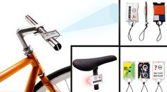 LED cykellygte med logo