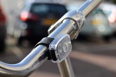 Genopladelig USB cykellygte med logo