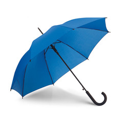 Paraply med logo tryk. Med automatisk funktion