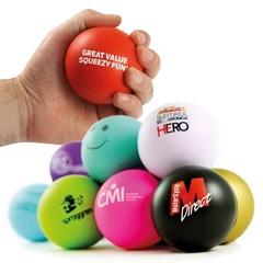 70 mm Antistress bold til stort logo tryk!