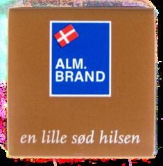 Fra 2000 stk. Chokolade med logo 5 gram