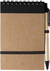 Miljøvenlig notesbog i genanvendt materiale