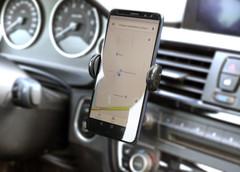 Mobiltelefon holder til bilen med logo tryk