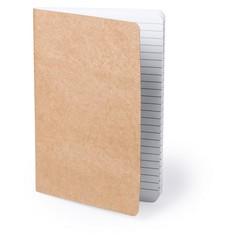 Miljøvenlig A5 notesbog med logo