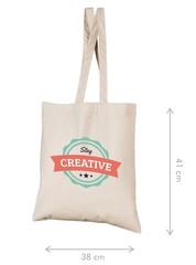 Kraftig mulepose (38x41cm) med logo tryk. Option! logo etiket. Vælg mellem 14 farver
