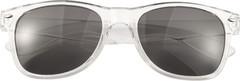 Solbriller med med transparent stel