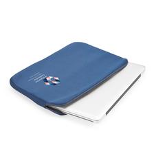 Laptop sleeve med logo tryk