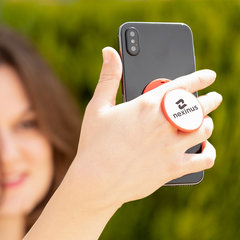 Mobiltelefon holder med logo tryk