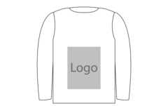 Sweatshirt mave 280x300mm