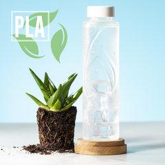 Teaser! Naturlig vandflaske med logo