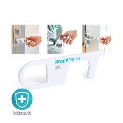 Anti bakteriel Anti-kontakt nøglering med logo tryk