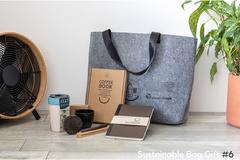 Bæredygtig kaffe gave til kunder og personale