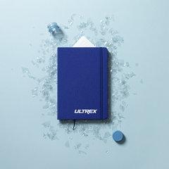 Notesbog med omslag af RPET (Genanvendt plastik)