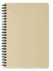 A5 Notesbog af græs fibre og FSC papir