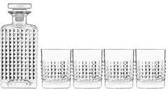 Luigi Bormioli Elixir Whiskysæt 5 dele Klar