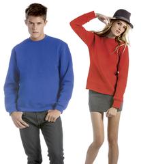 Sweatshirt med sved teknologi