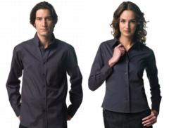 Langærmet skjorte i Twill kvalitet