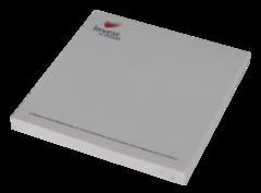 Selvklæbende blok med logo -100 blade