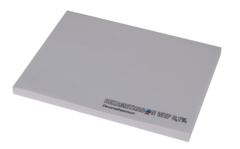 Selvklæbende blok med logo tryk- 100 blade