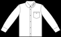 Shirt venstre krave