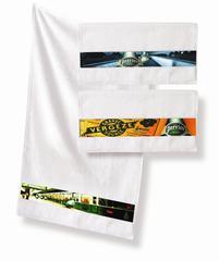Håndklæde med 4 farve tryk (50X100CM)