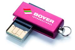 MINI USB MED LOGO - Perfekt til at bære i nøgleringen