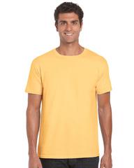 Farvet Unisex T-shirt med en god pasform - med logotryk